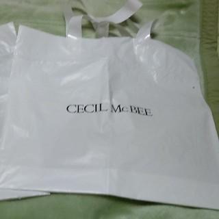 セシルマクビー(CECIL McBEE)のセシルマクビー ショップ袋(ショップ袋)