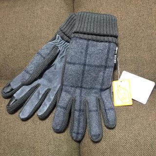ビームス(BEAMS)の新品 ビームス BEAMS 手袋  ウール タッチパネル対応 26cm(手袋)