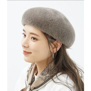 ロペピクニック(Rope' Picnic)のファーベレー帽 エコシャギーベレー帽(ハンチング/ベレー帽)