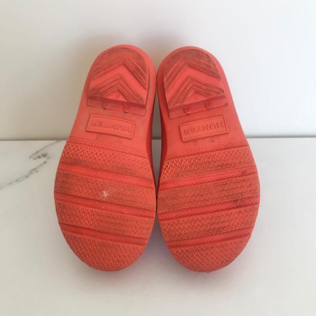 HUNTER(ハンター)の【値下げ】HUNTER ハンター レインブーツ キッズ 16cm キッズ/ベビー/マタニティのキッズ靴/シューズ(15cm~)(長靴/レインシューズ)の商品写真