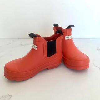 ハンター(HUNTER)の【値下げ】HUNTER ハンター レインブーツ キッズ 16cm(長靴/レインシューズ)