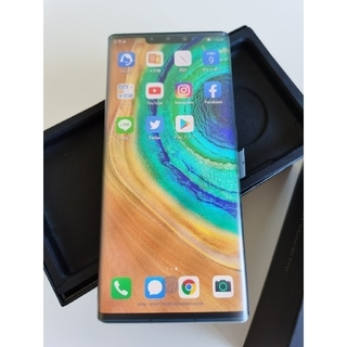 ANDROID - 新品 Huawei Mate30 Pro 8Gb+128Gb エメラルドグリーン