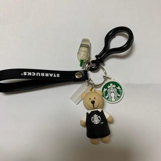 スターバックスコーヒー(Starbucks Coffee)の韓国 スターバックス ベアリスタ キーホルダー(キーホルダー)