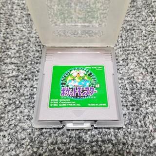 ゲームボーイ(ゲームボーイ)のゲームボーイ  ポケットモンスター緑(携帯用ゲームソフト)