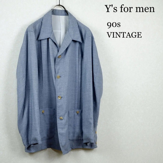 ワイズ(Y's)の希少 Y's for men 90s 春夏 千鳥柄ジャケット(テーラードジャケット)