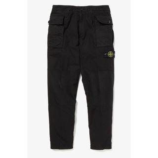 STONE ISLAND - STONE ISLAND  REGULAR TAPERED PANTS 32