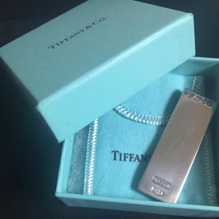 Tiffany & Co. - 美品 Tiffany ティファニー マネークリップ 1837 シルバー925