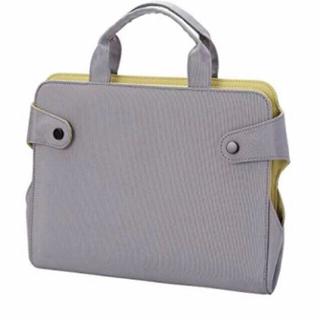 エレコム(ELECOM)のエレコム タブレット収納 バッグ  グレー 軽量   ビジネスバッグ(ビジネスバッグ)