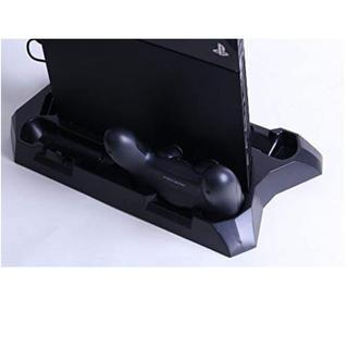 PlayStation4 - PlayStation4 縦置きスタンド🎮  充電台 USBハブ付き♬ 新品