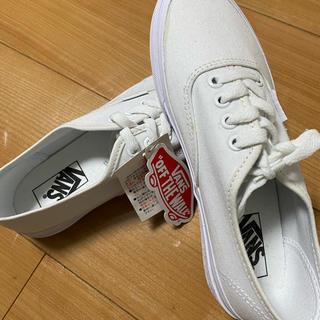 ヴァンズ(VANS)の【vans】白スニーカー(スニーカー)