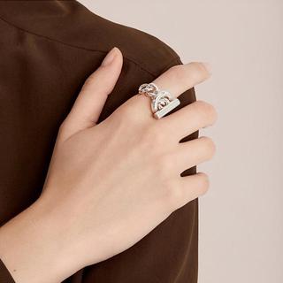 エルメス(Hermes)の新品★ エルメス リング 《クロワゼット》 GM(リング(指輪))