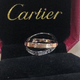 カルティエ(Cartier)のCartier カルティエ ラブ リング(リング(指輪))