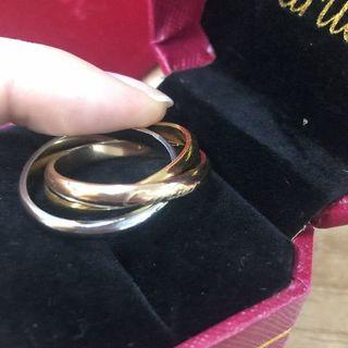 カルティエ(Cartier)のカルティエ、トリニティ、リング(リング(指輪))