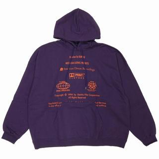 ジエダ(Jieda)のdairiku  19aw end roll washed hoodie(パーカー)
