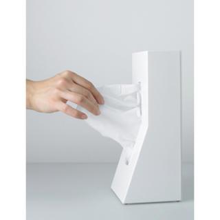 Francfranc - グッドデザイン賞受賞 フランフラン購入 縦置き ティッシュケース 白