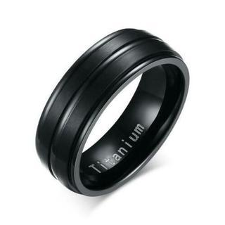 メンズレディースステンレスリングアメリカンサイズ12号 #A250B(リング(指輪))