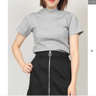 プニュズ(PUNYUS)のPUNYUSラメハイネック☆サイズ4(Tシャツ(半袖/袖なし))
