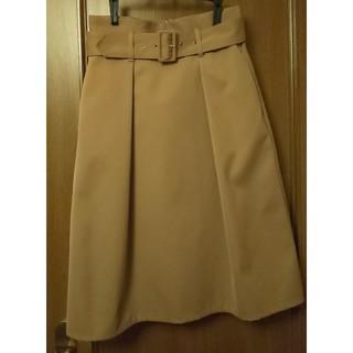 トゥモローランド(TOMORROWLAND)のMACPHEE トレンチスカート(ひざ丈スカート)