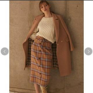 プロポーションボディドレッシング(PROPORTION BODY DRESSING)の美品♡BLANCHIC ビッグチェックスカート(ロングスカート)