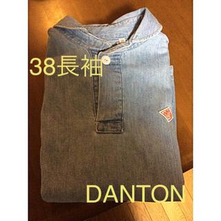 ダントン(DANTON)のダントン プルオーバーシャツ デニム生地  38(シャツ/ブラウス(長袖/七分))