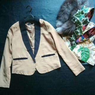 オズモーシス(OSMOSIS)の♪ロフ♪薄手配色デザイン♪テーラードジャケット♪オズモーシズ♪(テーラードジャケット)