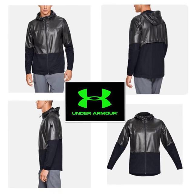 UNDER ARMOUR(アンダーアーマー)のM 新品 アンダーアーマー パーペチュアル プリントパーカー  メンズのジャケット/アウター(ナイロンジャケット)の商品写真