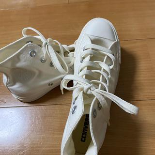コンバース(CONVERSE)の【converse】白スニーカー(スニーカー)