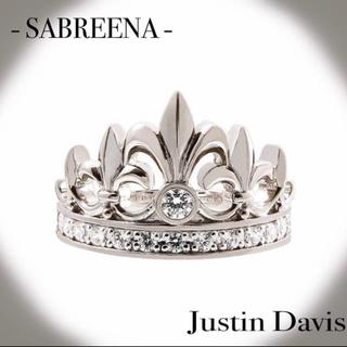 ジャスティンデイビス(Justin Davis)のjustindavis ジャスティンデイビス サブリナ SABREENA(リング(指輪))