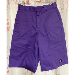 ディッキーズ(Dickies)の紫ディッキ 30(ハーフパンツ)