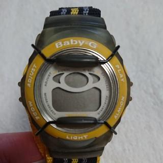 ベビージー(Baby-G)のBaby-G ベイビージー G-shock イエロー スポーティー アウトドア(腕時計(デジタル))