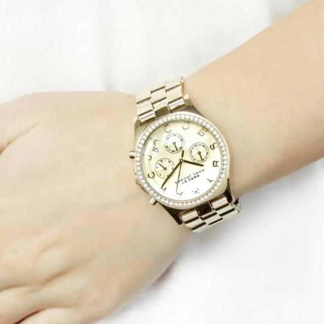 グッチ コピー 香港 / MARC BY MARC JACOBS - ラインストーン腕時計ヘンリークロノグラフの通販