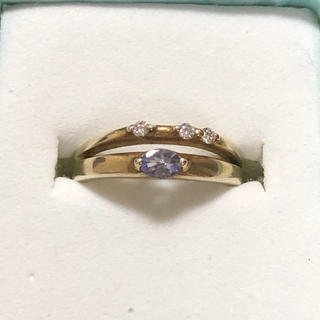 リング 指輪 タンザナイト 9号 cz ジルコニア silver925 シルバー(リング(指輪))