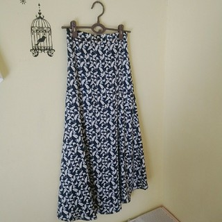 ヴィス(ViS)の専用です!週末限定お値下げ☆Vis☆新品フラワーAラインロングスカート(ロングスカート)
