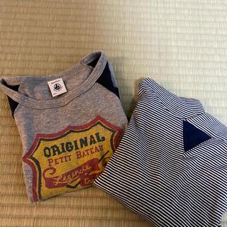 プチバトー(PETIT BATEAU)のプチバトーロンTセット(Tシャツ/カットソー)