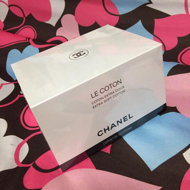 CHANEL(シャネル)のシャネル化粧綿 コスメ/美容のメイク道具/ケアグッズ(コットン)の商品写真