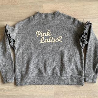 PINK-latte - Pink Latte  フリース トップス