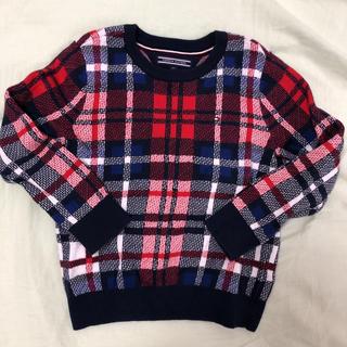 TOMMY HILFIGER - 美品❗️❗️トミーヒルフィガー ニット セーター 100㎝