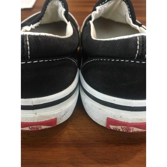 VANS(ヴァンズ)のVANS Kidsスリッポン 黒 20センチ キッズ/ベビー/マタニティのキッズ靴/シューズ(15cm~)(スリッポン)の商品写真