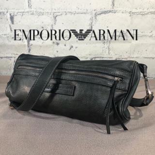 Emporio Armani - ITARY 製エンポリオ・アルマーニ /レザーショルダーバッグ