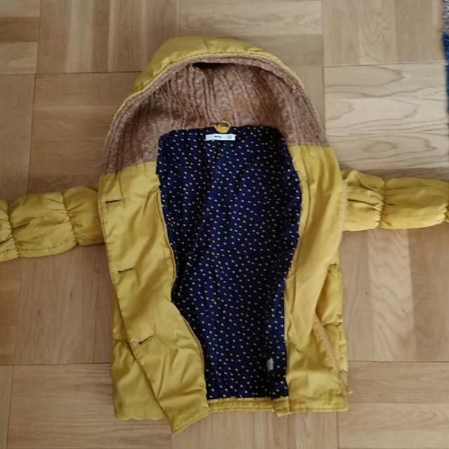 MPS(エムピーエス)のMPS女児140㎝アウター マスタード キッズ/ベビー/マタニティのキッズ服女の子用(90cm~)(ジャケット/上着)の商品写真