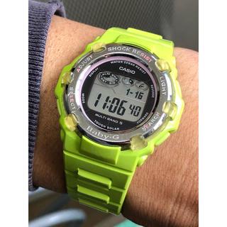 ベビージー(Baby-G)のbaby-G/G-SHOCK/イルクジ/BGR-3002K/電波/ソーラー/緑(腕時計(デジタル))