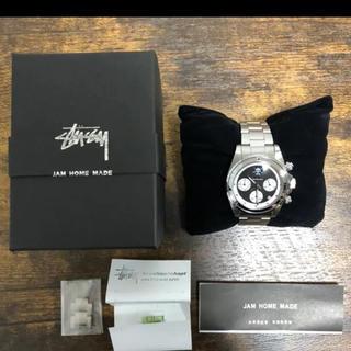 STUSSY - STUSSY × JAM HOME MADE 腕時計