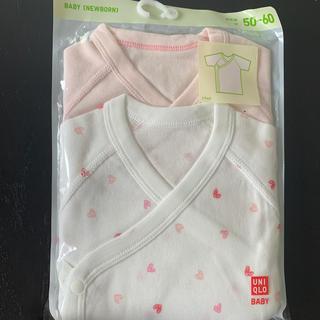 UNIQLO - ユニクロ ベビー 新生児 50-60