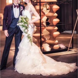Vera Wang - 【定価40万】総レース マーメイドドレス ウェディングドレス