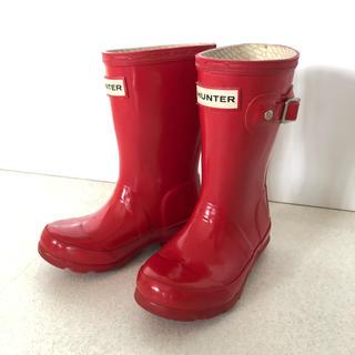 ハンター(HUNTER)の【ご予約済み】ハンター HUNTER 長靴 レインブーツ 14センチ(長靴/レインシューズ)