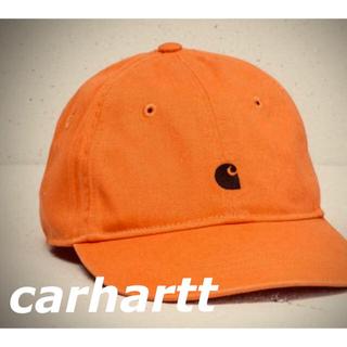 カーハート(carhartt)のcarhartt madison logo cap / jaffa black(キャップ)