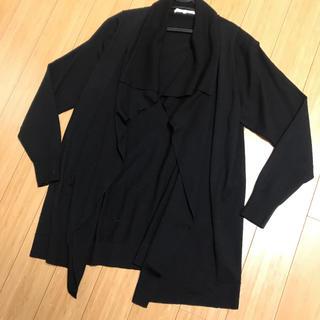 エムプルミエ(M-premier)のM's select エムプルミエ カーディガン ブラック(カーディガン)