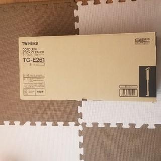 TWINBIRD - 新品★ツインバード コードレススティッククリーナー シルバー TC-E261S