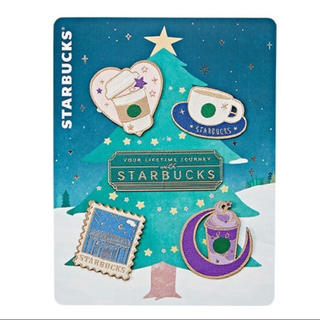 スターバックスコーヒー(Starbucks Coffee)のスターバックス 韓国ワッペンステッカーセット 2枚セット(キャラクターグッズ)