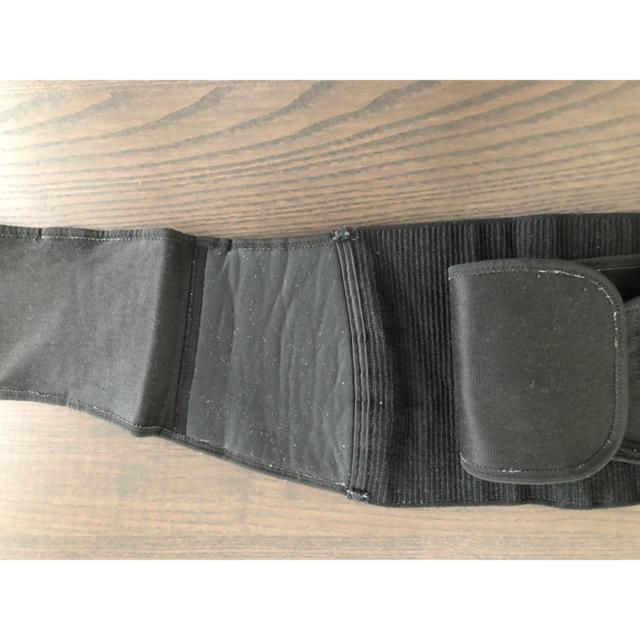 Wacoal(ワコール)のワコール 骨盤ベルト 黒 キッズ/ベビー/マタニティのマタニティ(その他)の商品写真